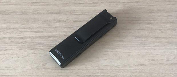 小型カメラ(クリップ型)